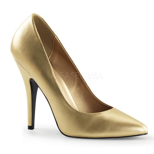 Calzado Mate Sed420gpu Grandes Oro Tallas Femeninos Zapato Pleaser xgtqx5wd6
